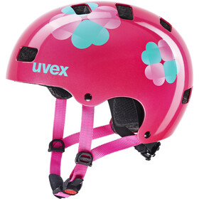 UVEX Kid 3 Casque Enfant, pink flower